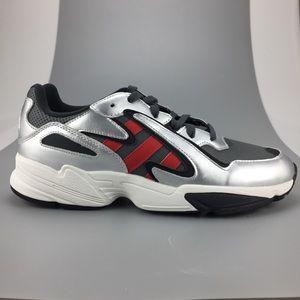 Adidas Originals Yung-96 Chasm Silver Grey Red NEW
